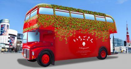 【終了】いちご狩りも観光も同時に楽しめる! 佐賀県のいちご新ブランド「いちごさん」を存分に味わえる5日間限定の体験型バスツアー「いちごさんバス」運行決定!