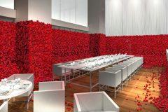 -取材募集中-【7/5(金)期間限定オープン】4万本の薔薇に包まれ血の美食フレンチを楽しむ「喰種レストラン」