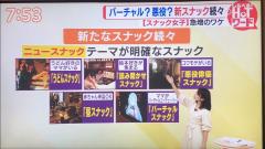 メディア出演 「TBSあさチャン」急増!スナ女のリアル