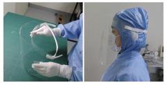 【医療従事者向け】光学フィルムメーカー株式会社ツジデン、50万個分のフェイスシールドを4/21から供給開始!